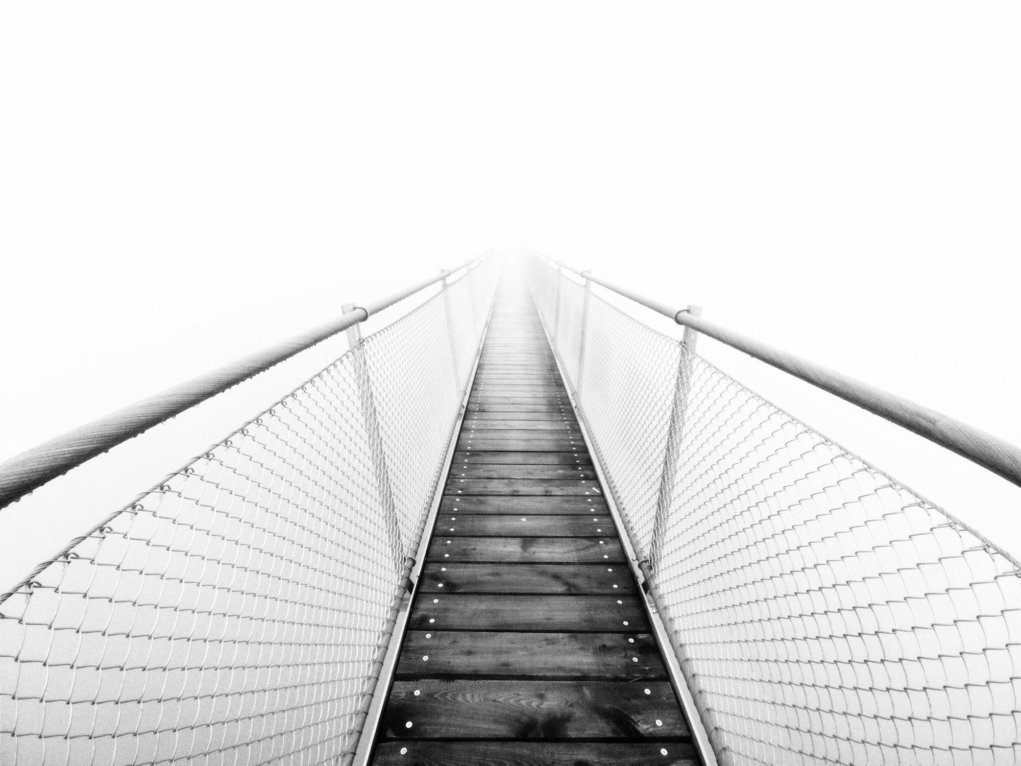 Bridge in the sky 🌉
