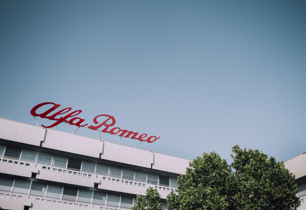 Alfa Romeo signage