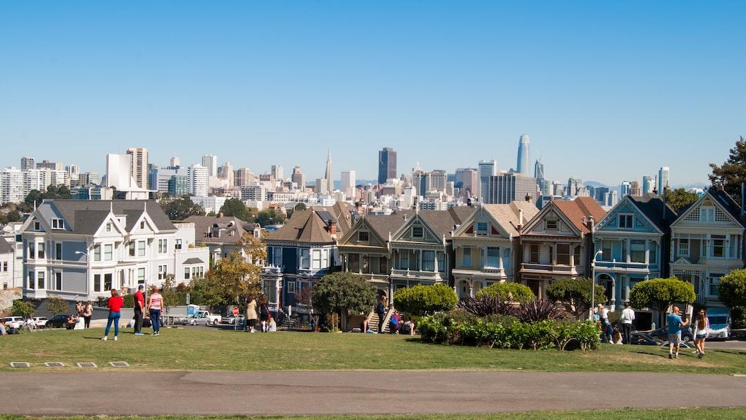 Vue carte postale de San Francisco
