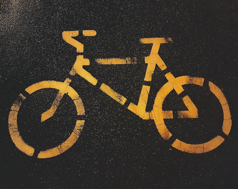 bicycle lane signage