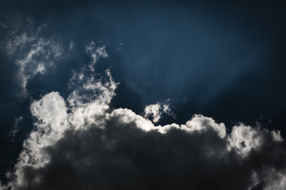 white cumulus clouds on blue sky during daytime