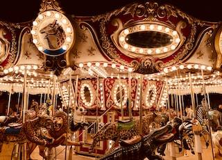 animal-themed merry go round