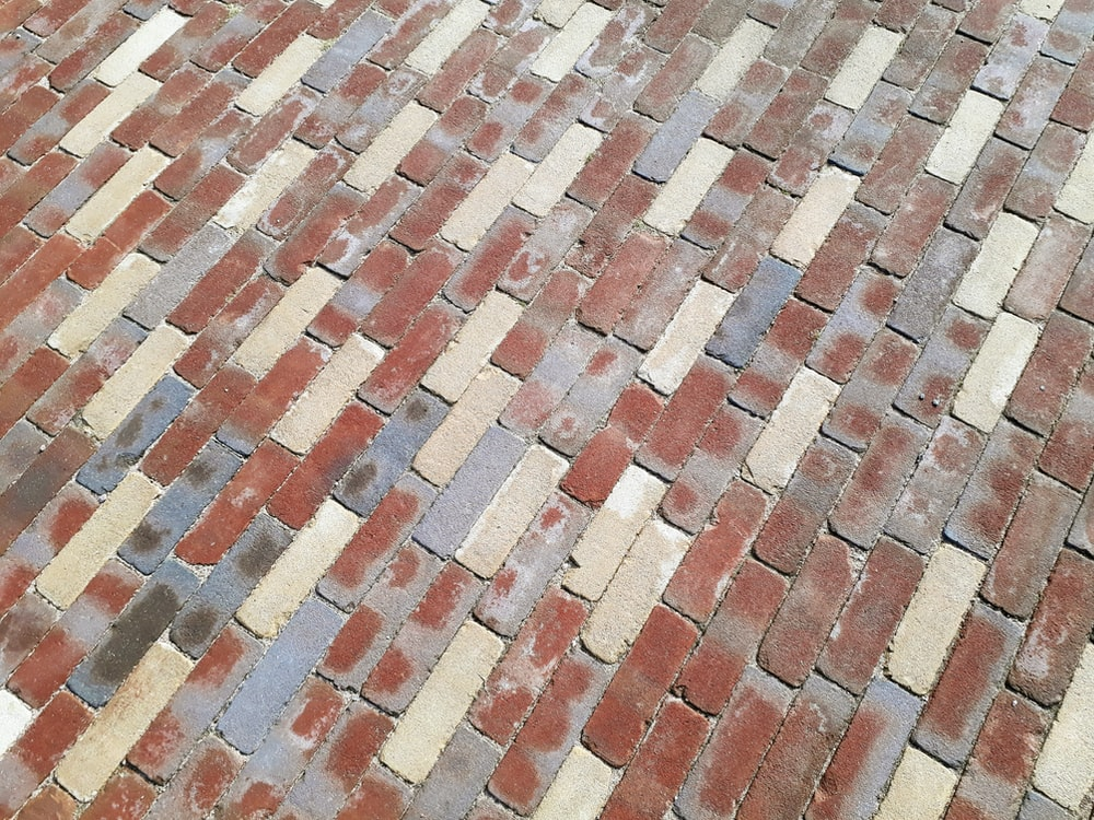 brown and beige pavements