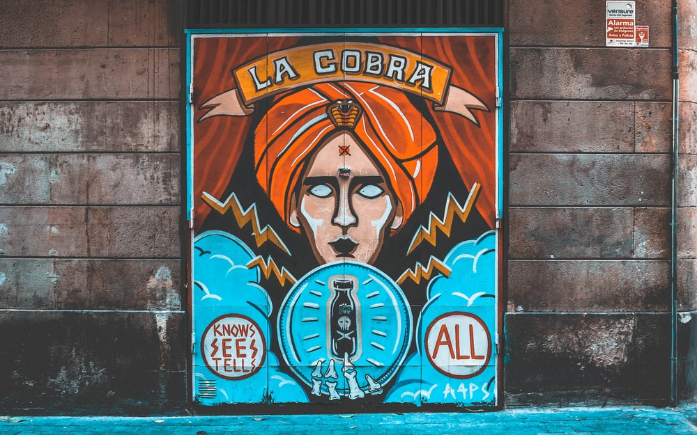 La Cobra wall painting