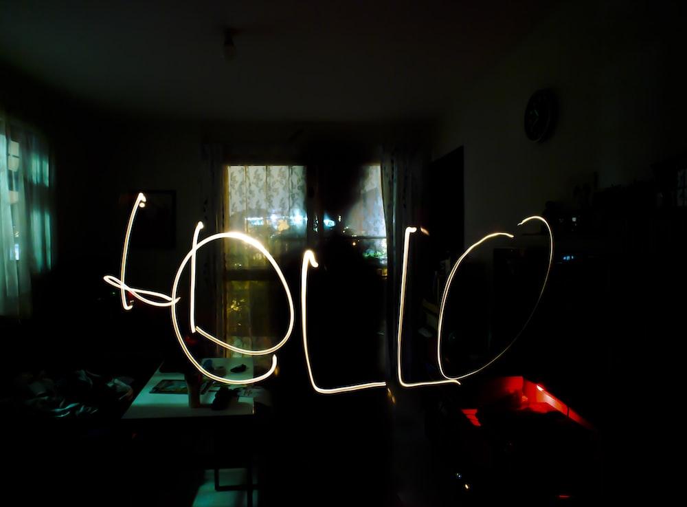 Hello light view