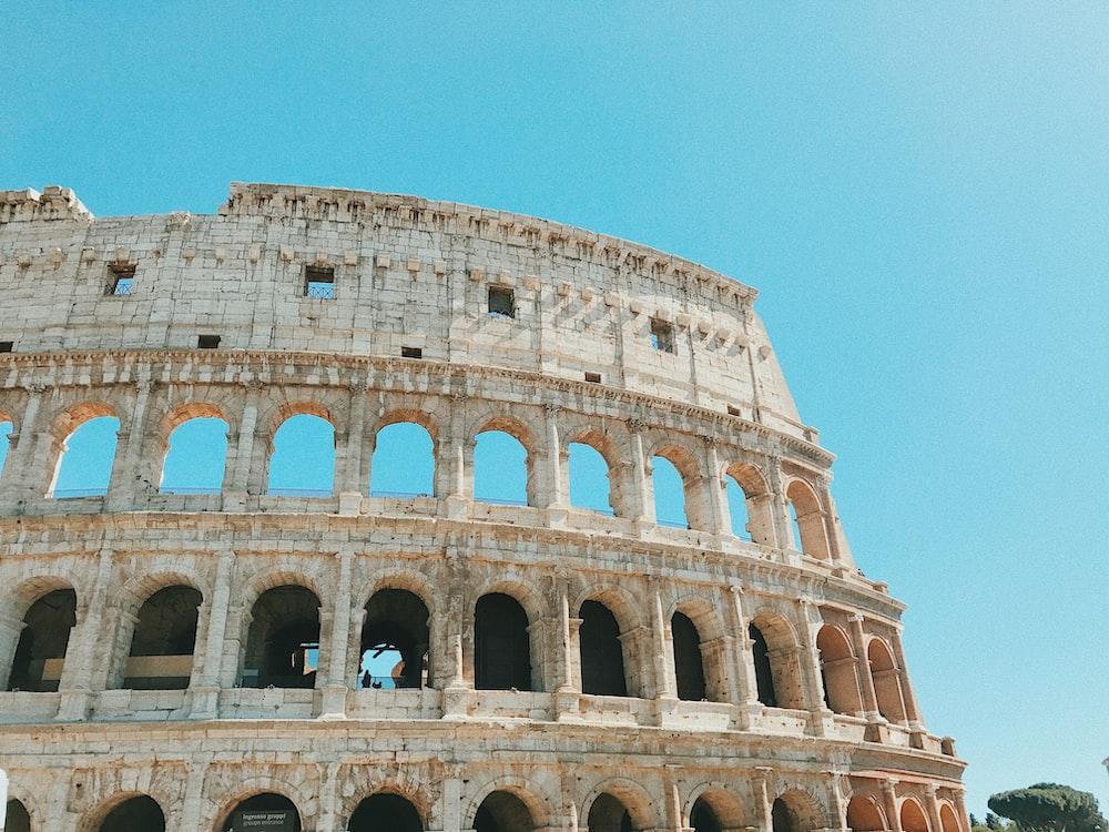 Coliseum at daytime