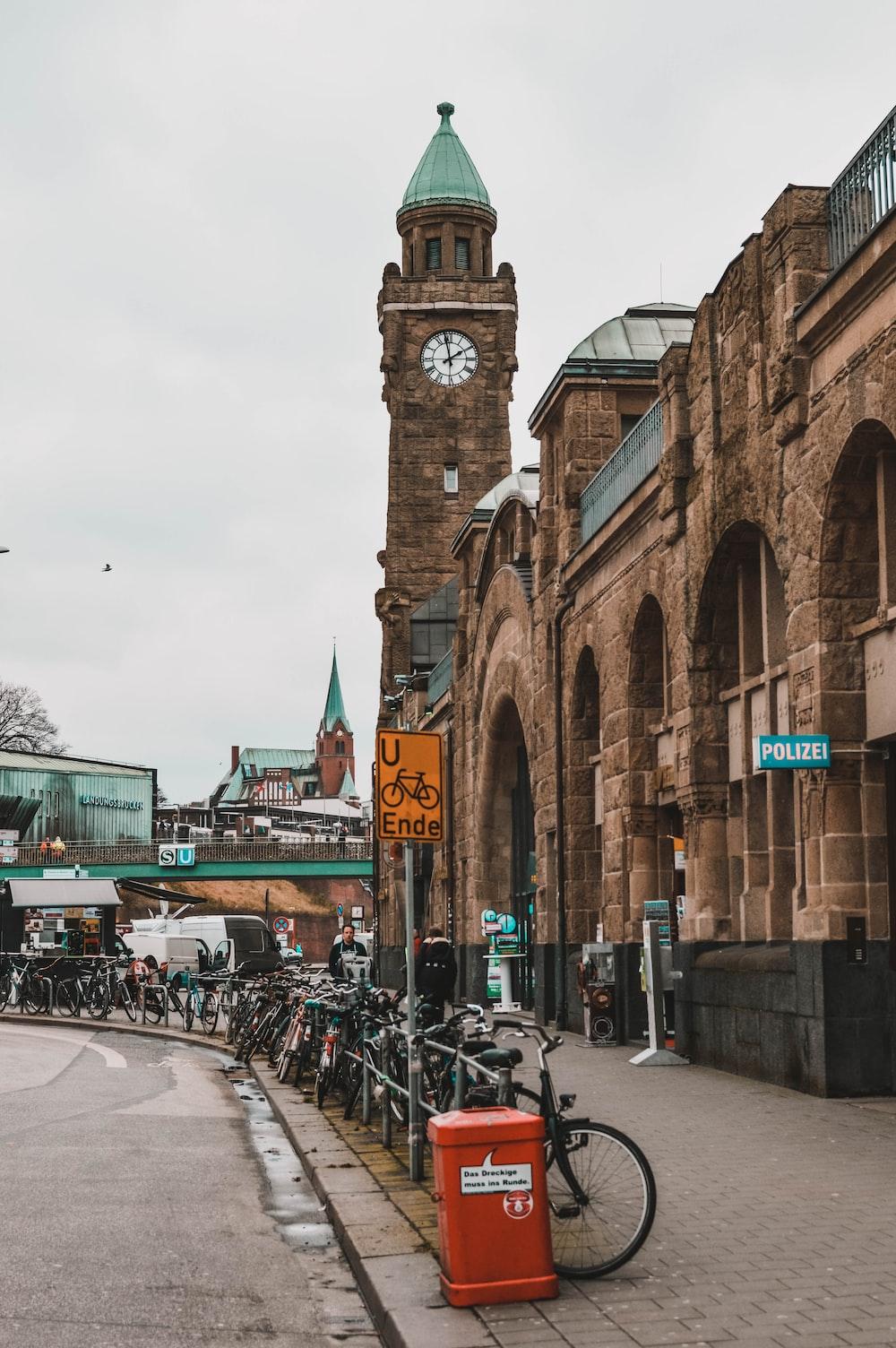 tower clock at daytime