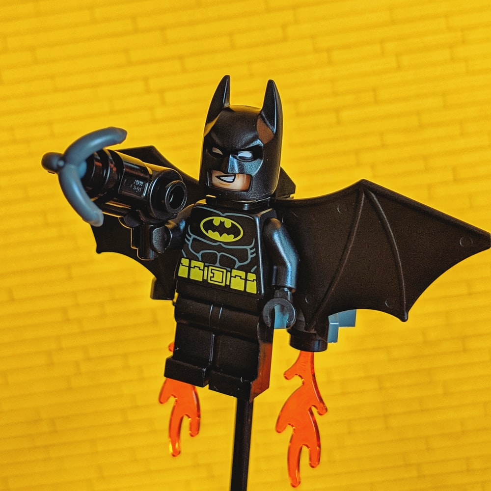 Lego Batman minifig