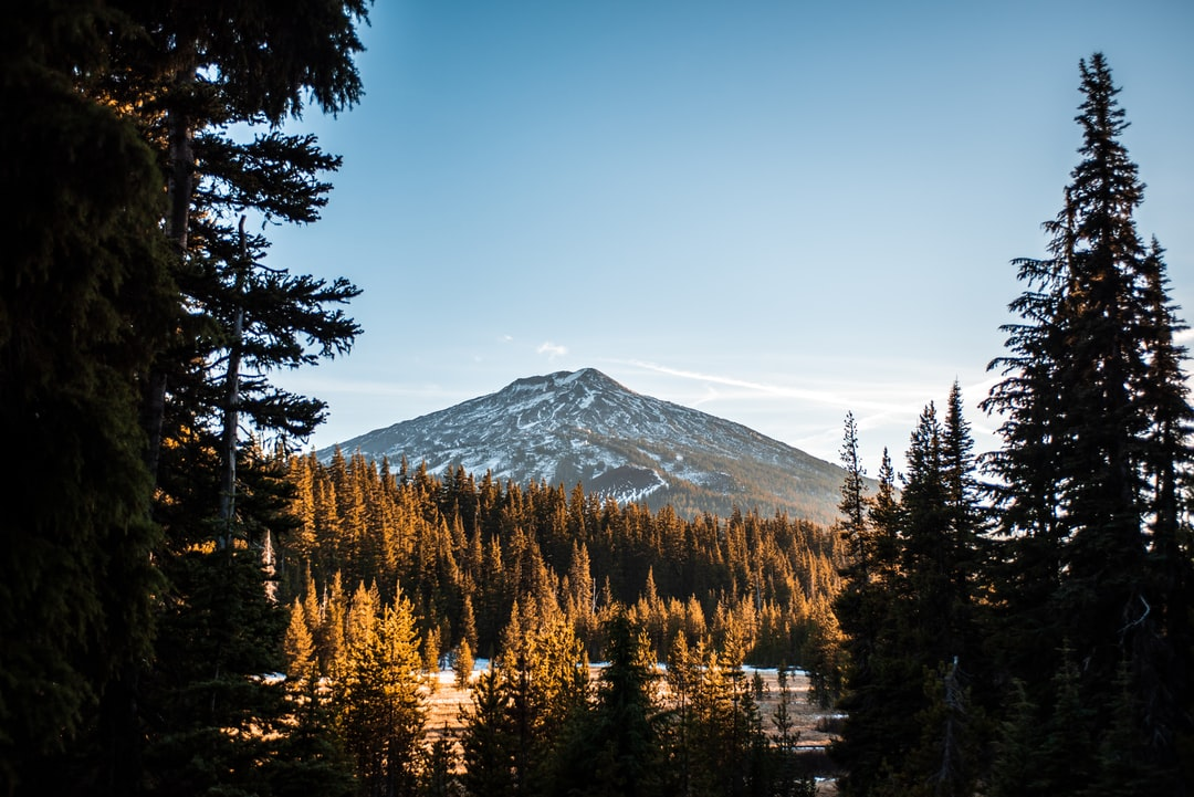 Mt Bachelor in Fall