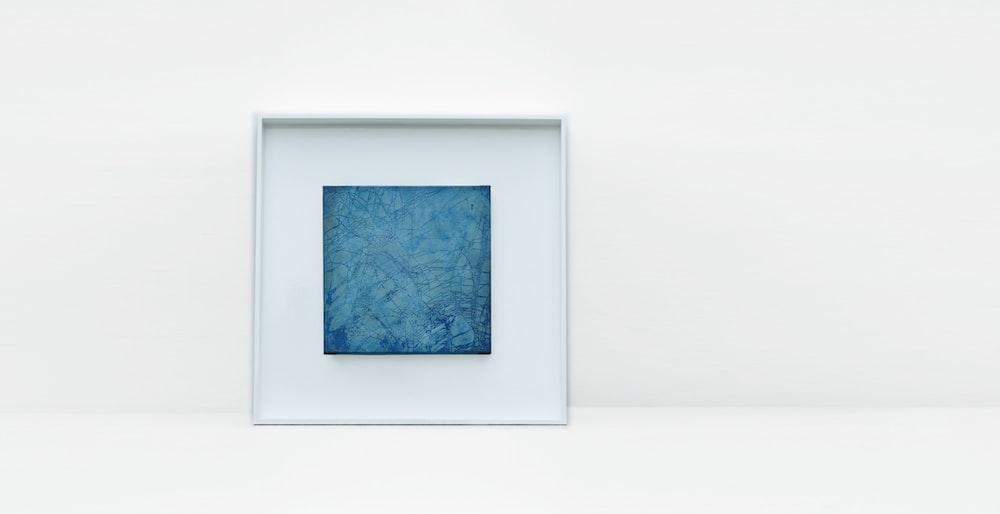 white wooden photo frame
