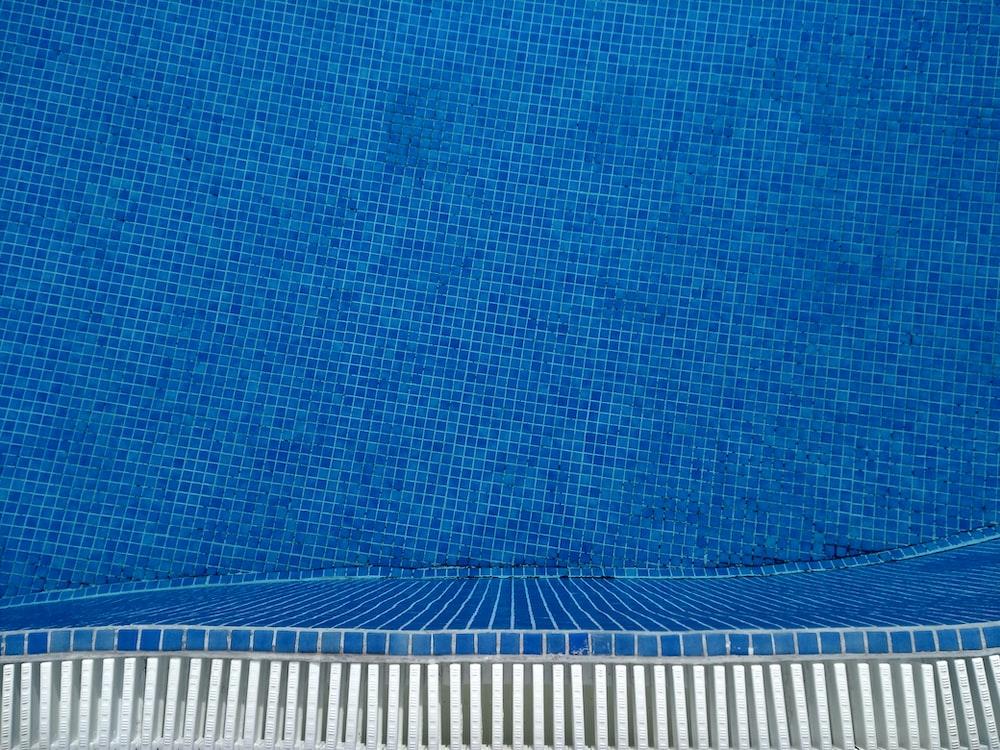 blue water pool