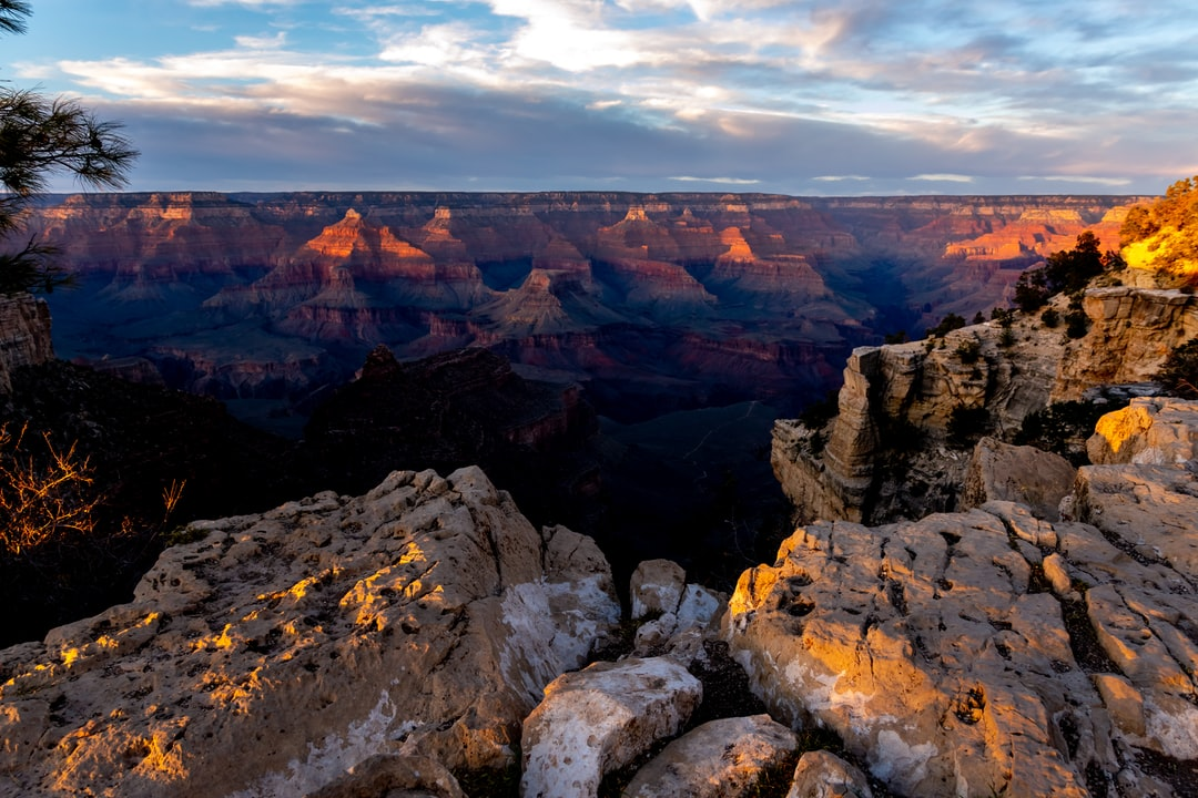 Novermber sunset on the South Rim