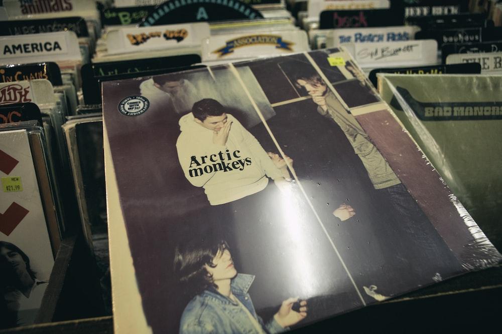 Arctic Monkeys record sleeve