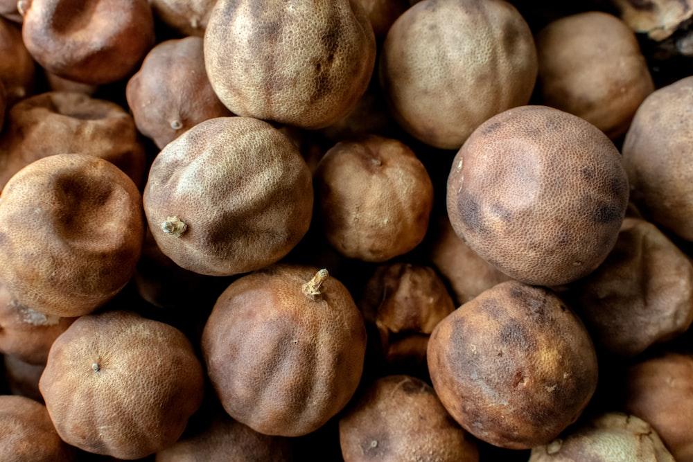 dried round fruits