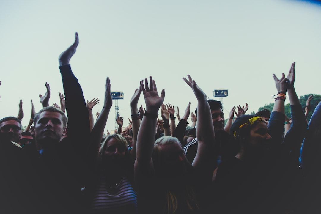 Open air music live festival summer