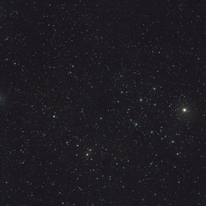 black sky with stars