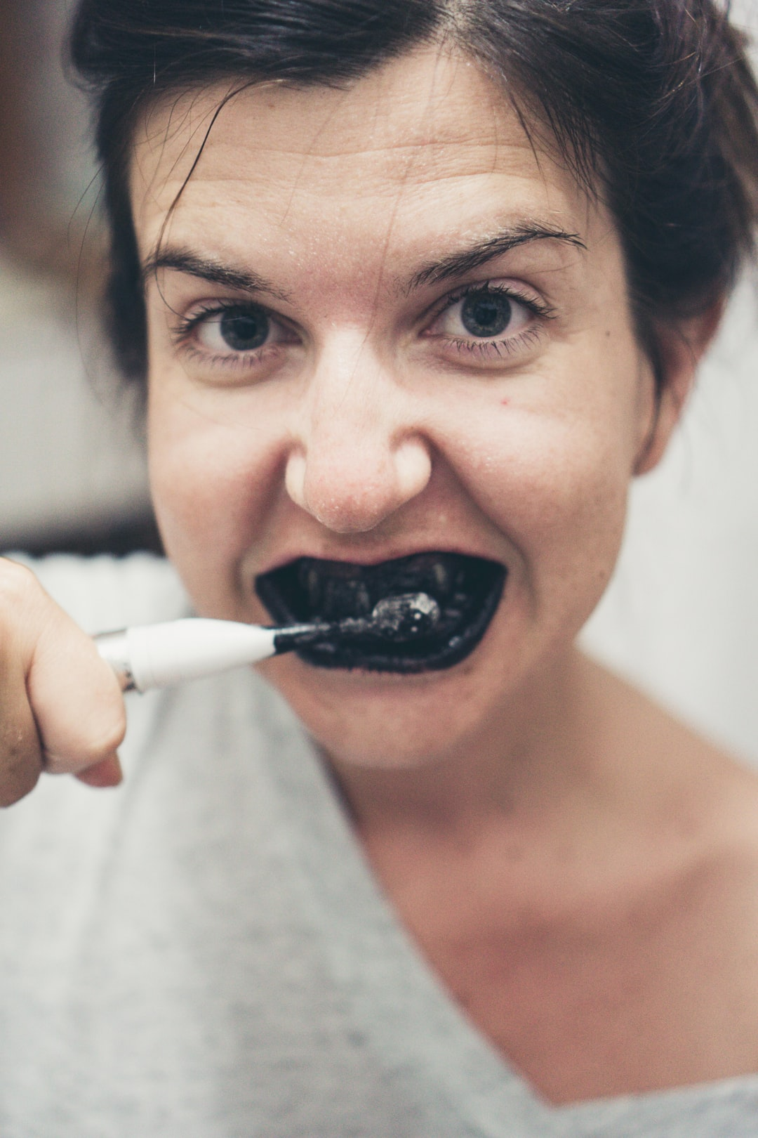 Black toothpaste? Oh yeah!