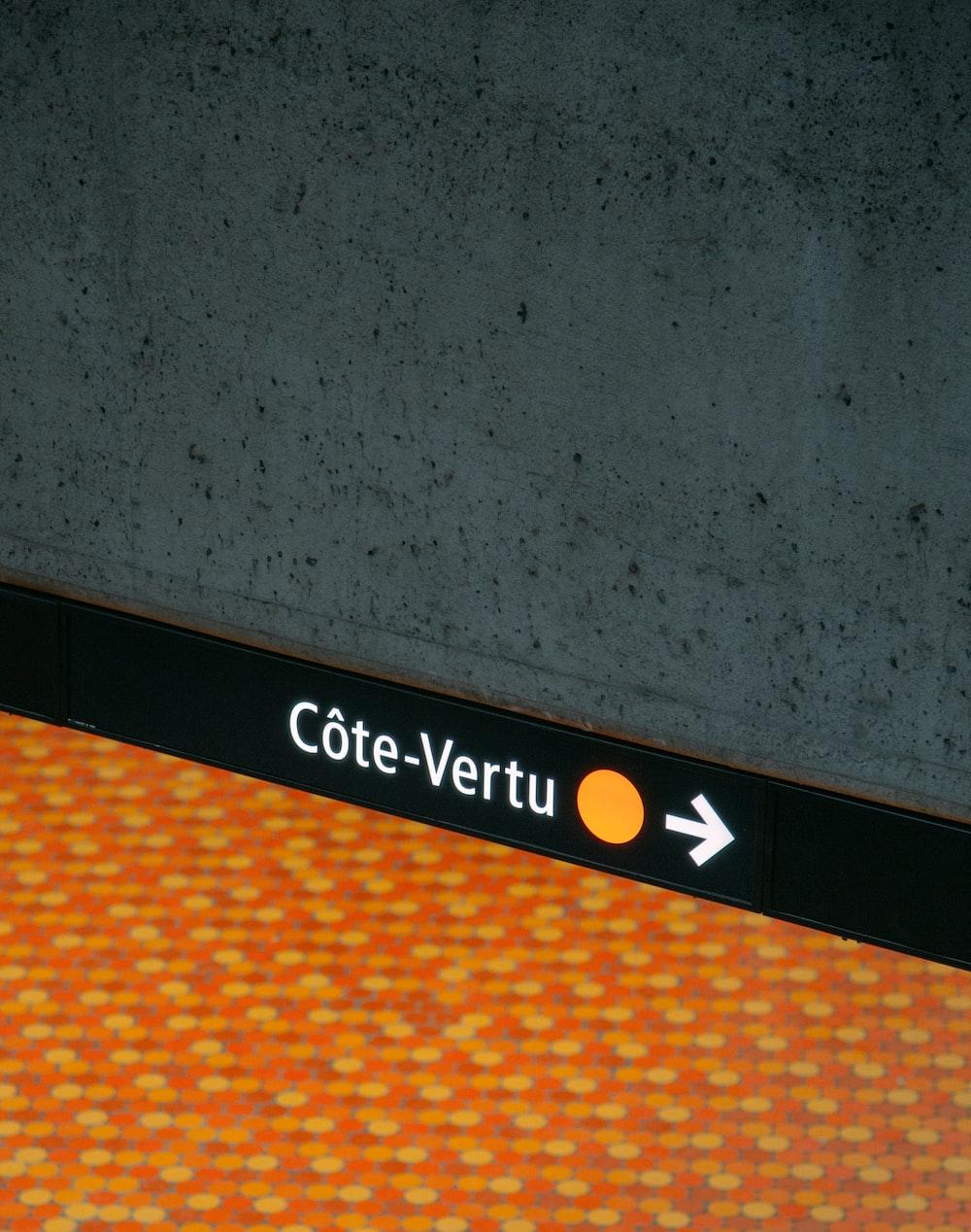 Cote-Vertu logo