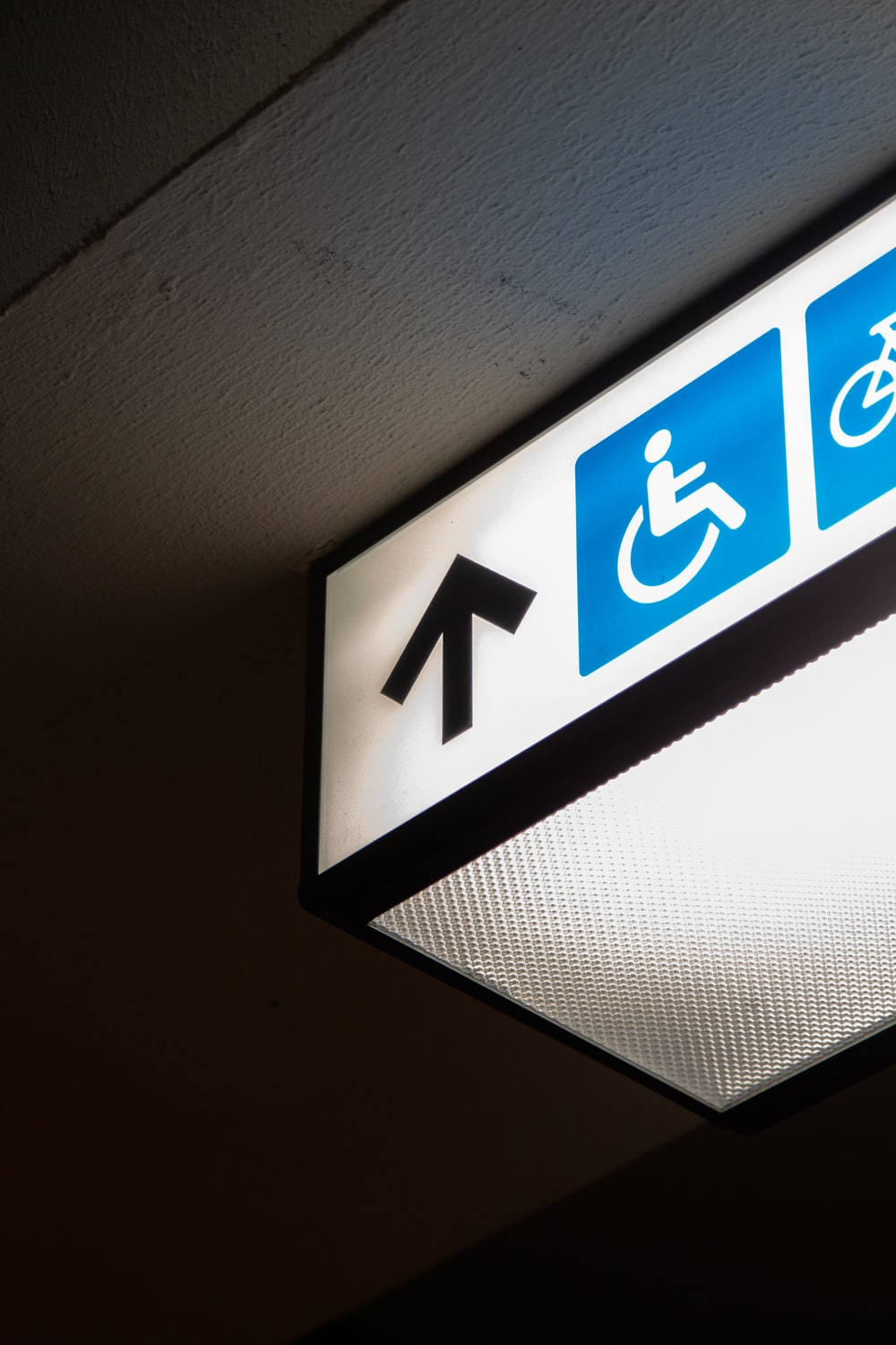 disable person signage