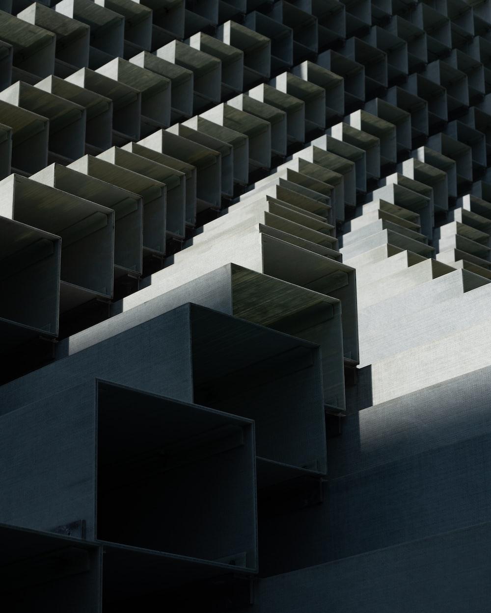 gray cube abstract wallpaper vector art