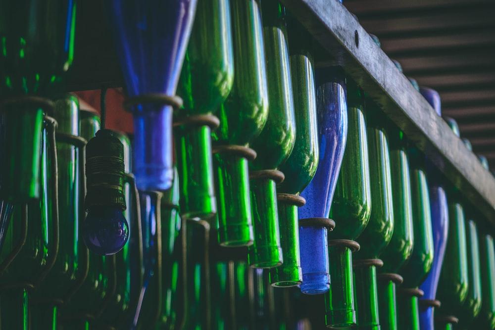 hanged bottle lot