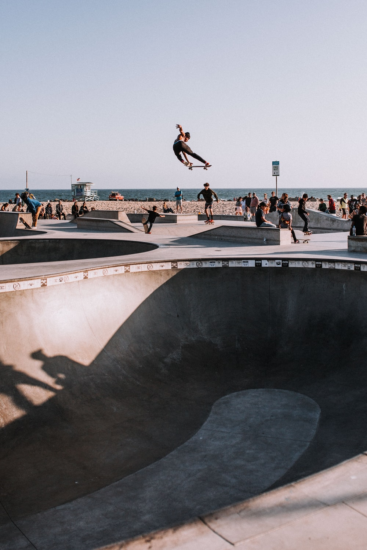 person skateboarding during daytime