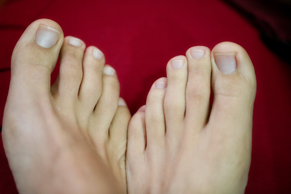 person's feet