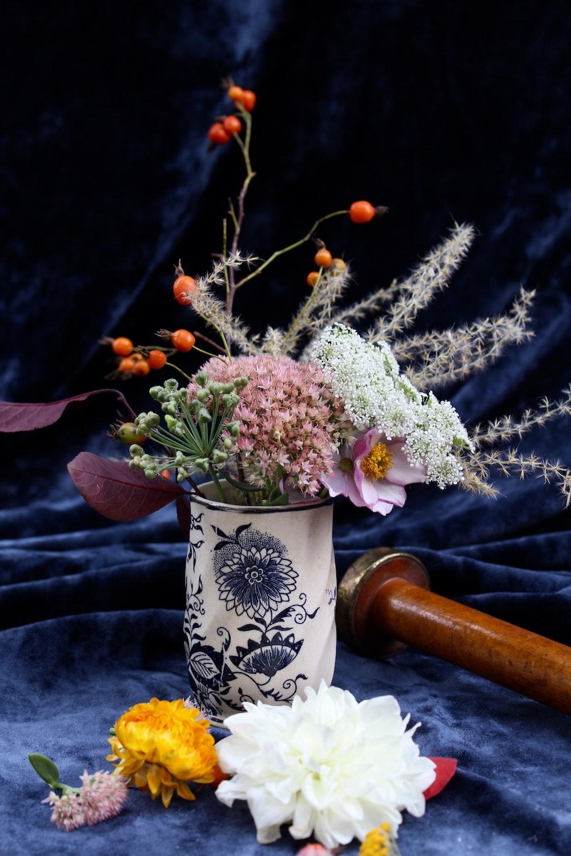 assorted-color flower arrangements