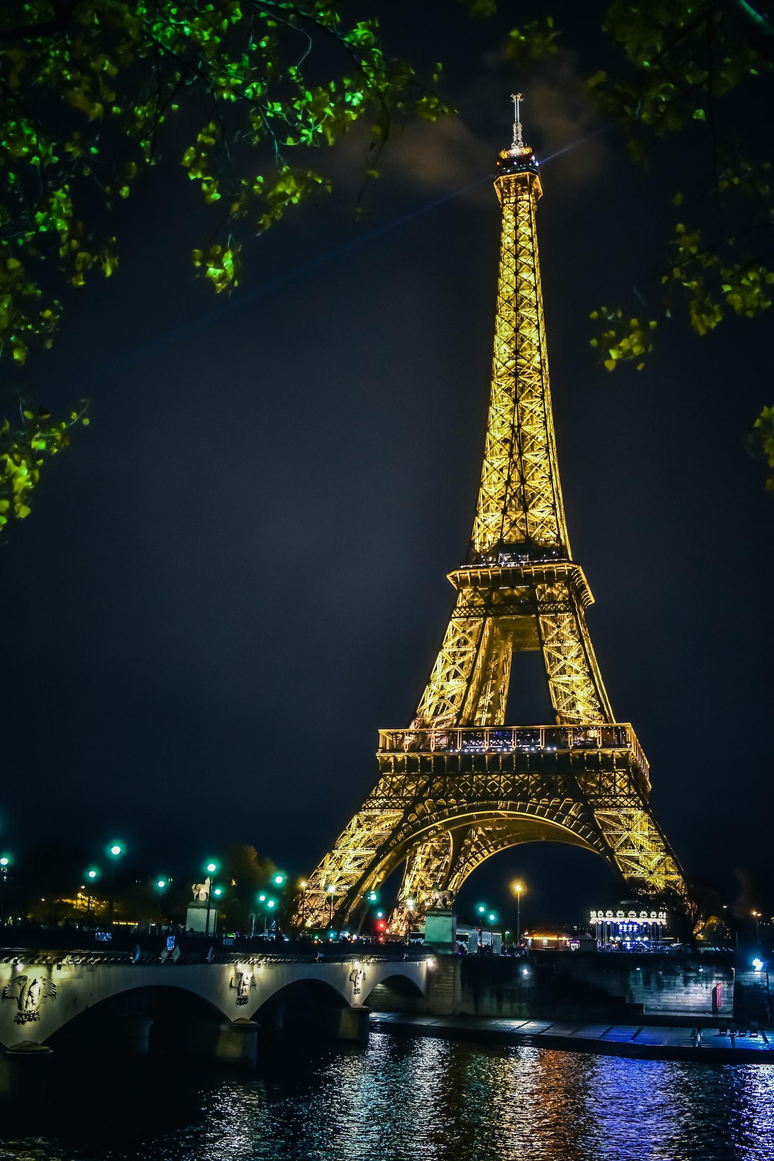 The gorgeous Eiffel Tower
