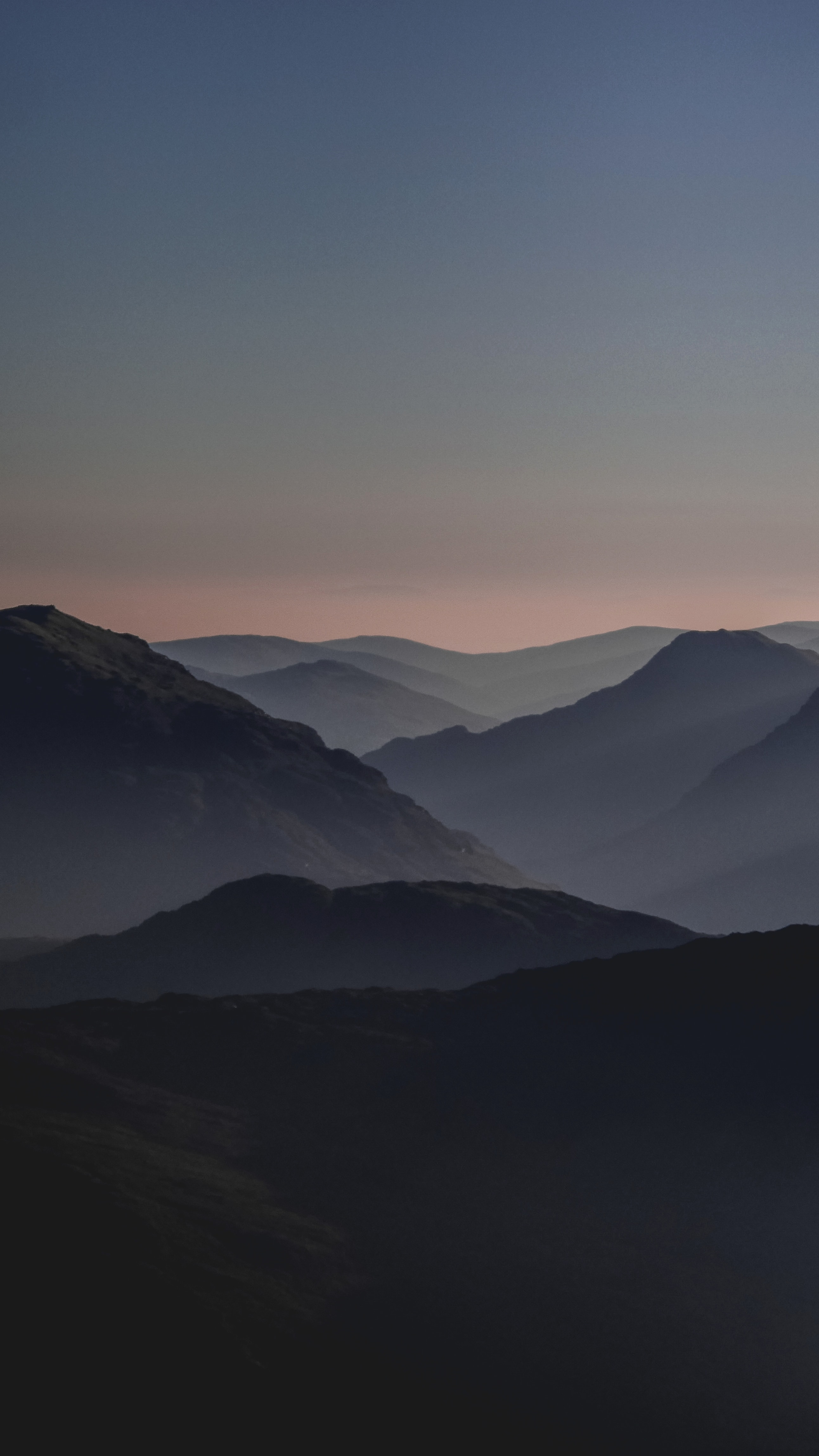 mountains during golden hour