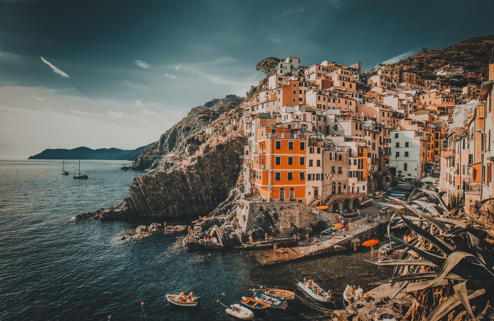 concrete buildings in Manarola during daytime
