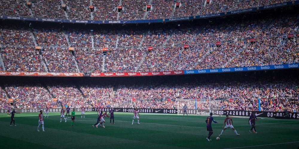 Camp Nou Barcelona Spain Pictures Download Free Images On Unsplash