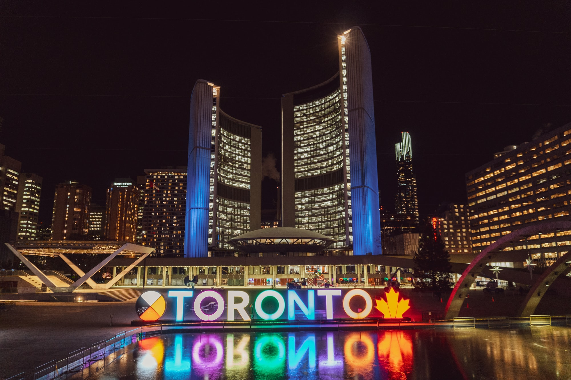 Labor Day weekend in Toronto, Ontario