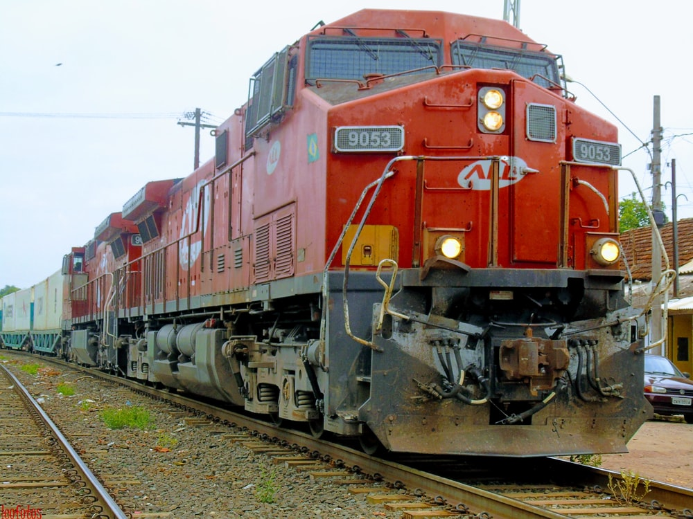 red All train
