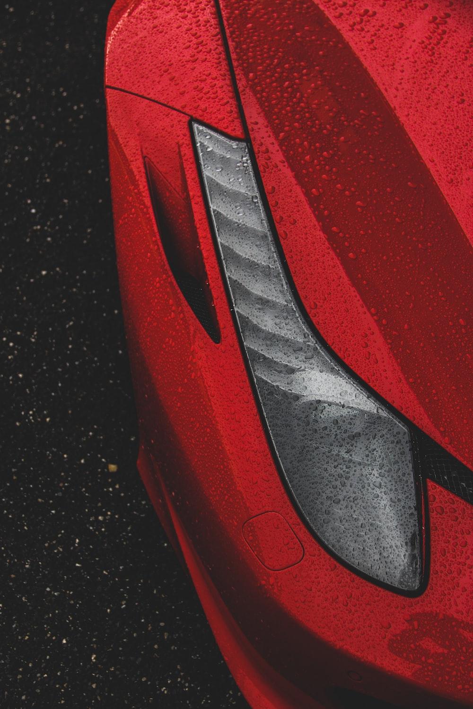 red Ferrari 458 Italia