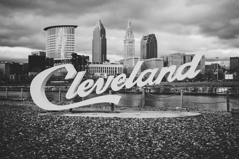 Cleveland signage