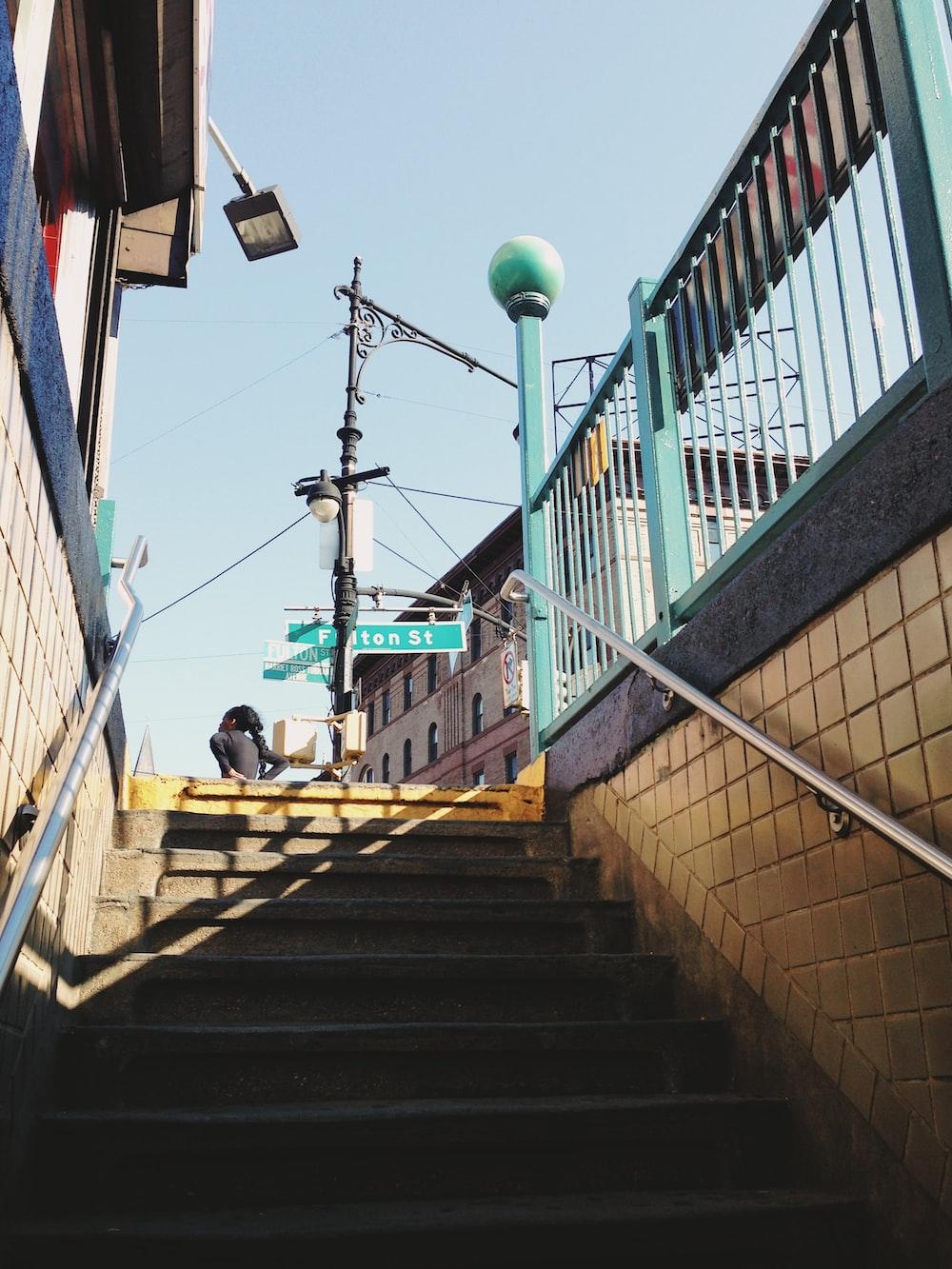 gray staircase