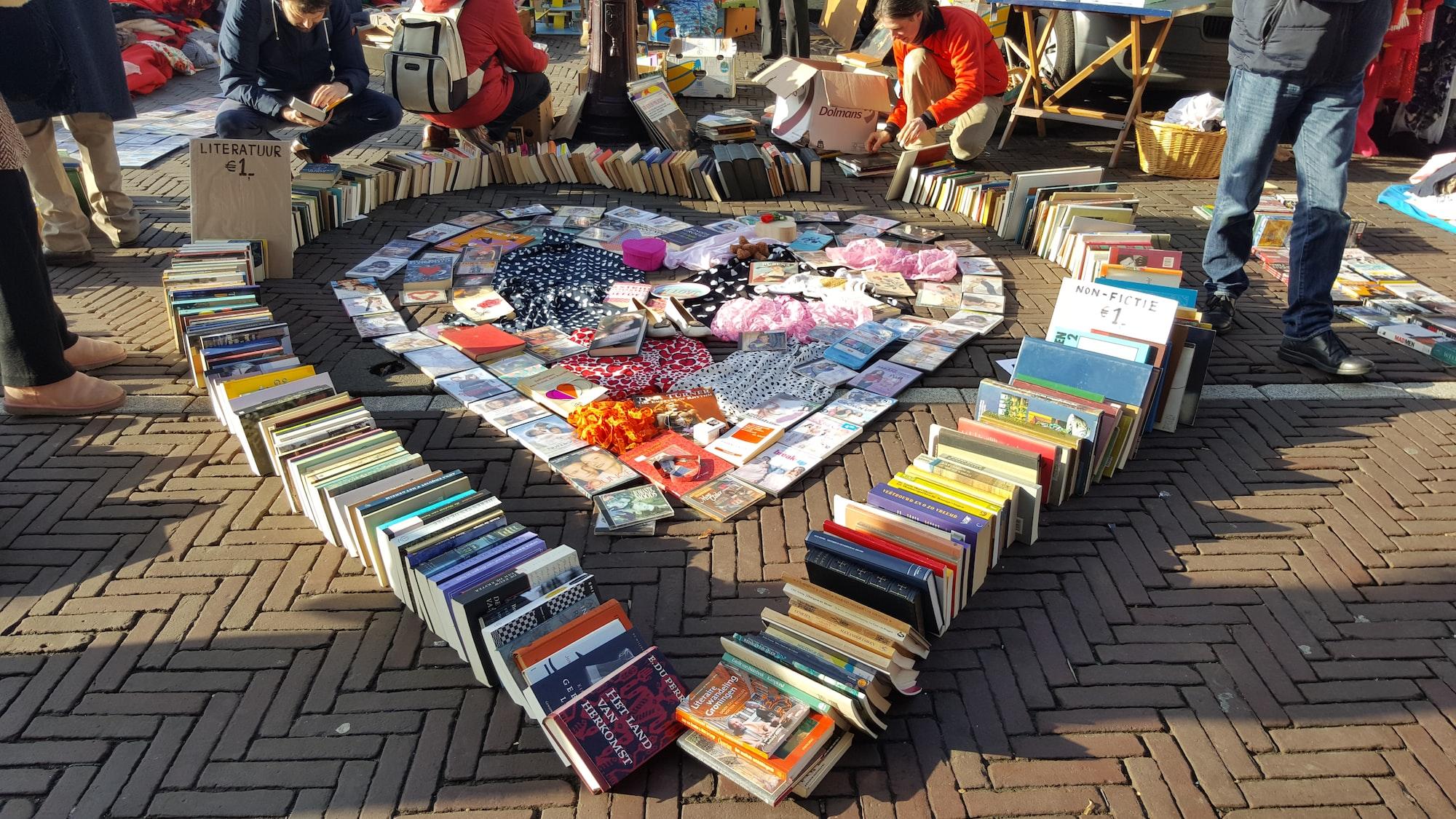 Flea Market in Amsterdam