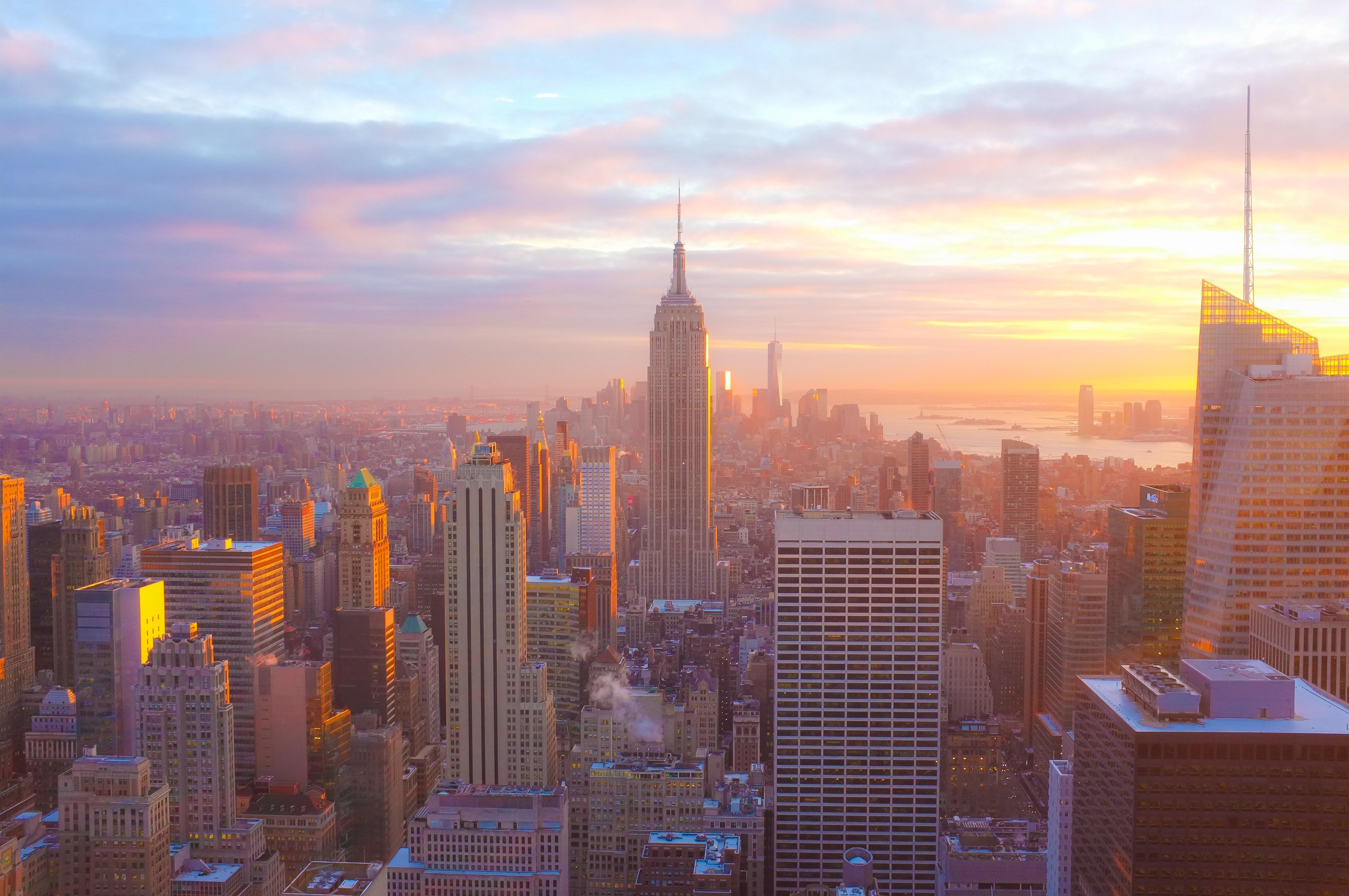 bird's eye photography of high rise building