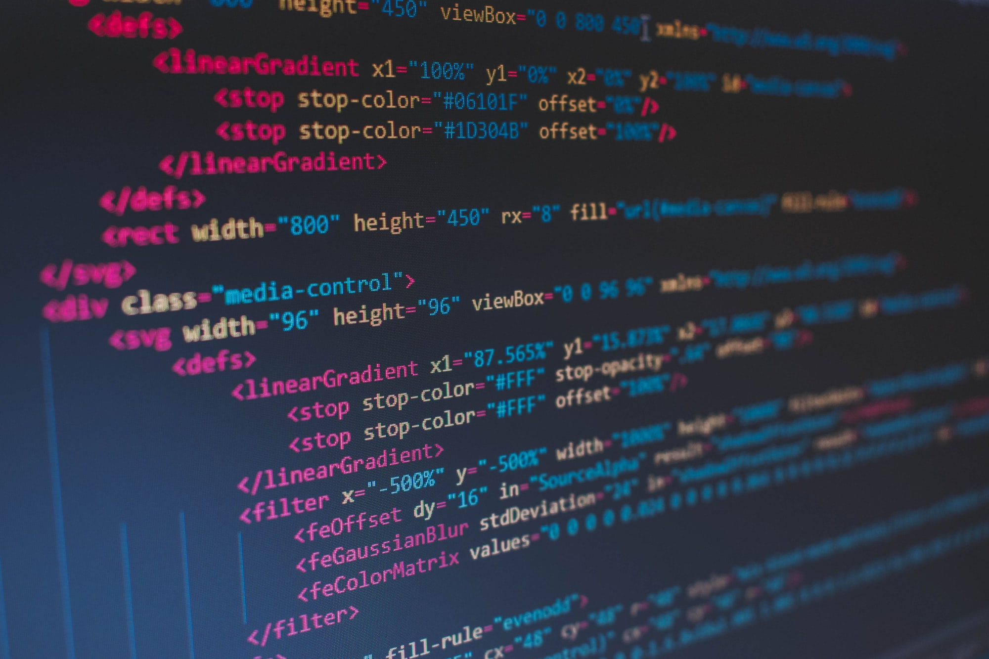 More on Syntax and text editor