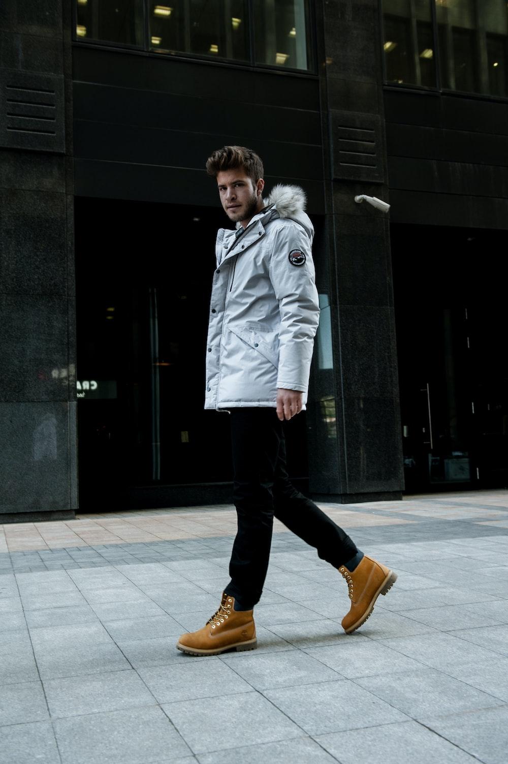 man walking outdoor