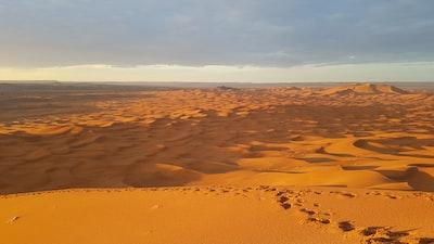 Errachidia landscape photography of desert