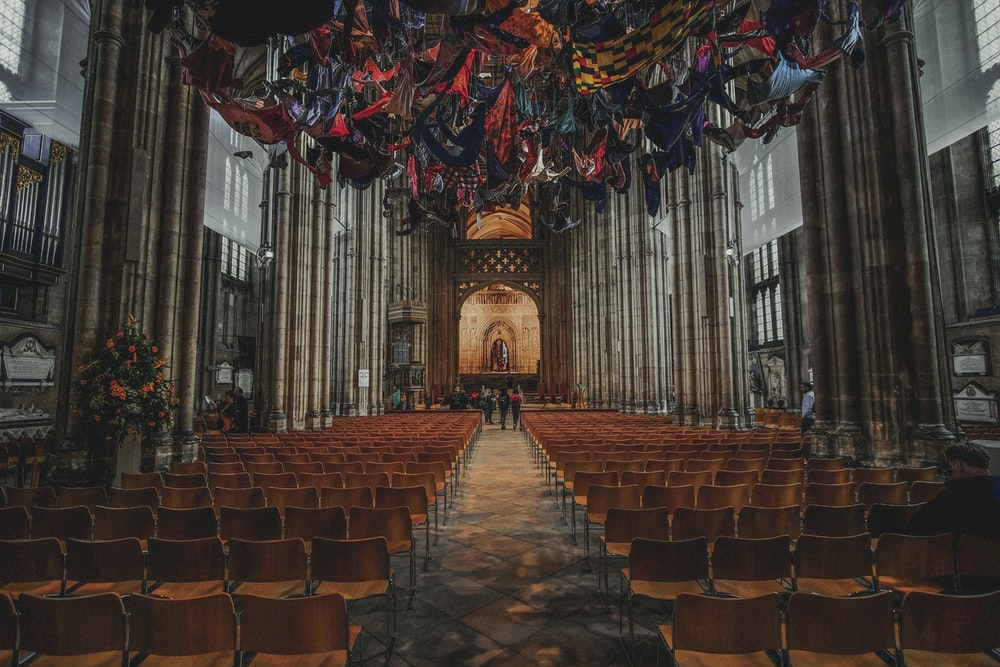 photography of aisle