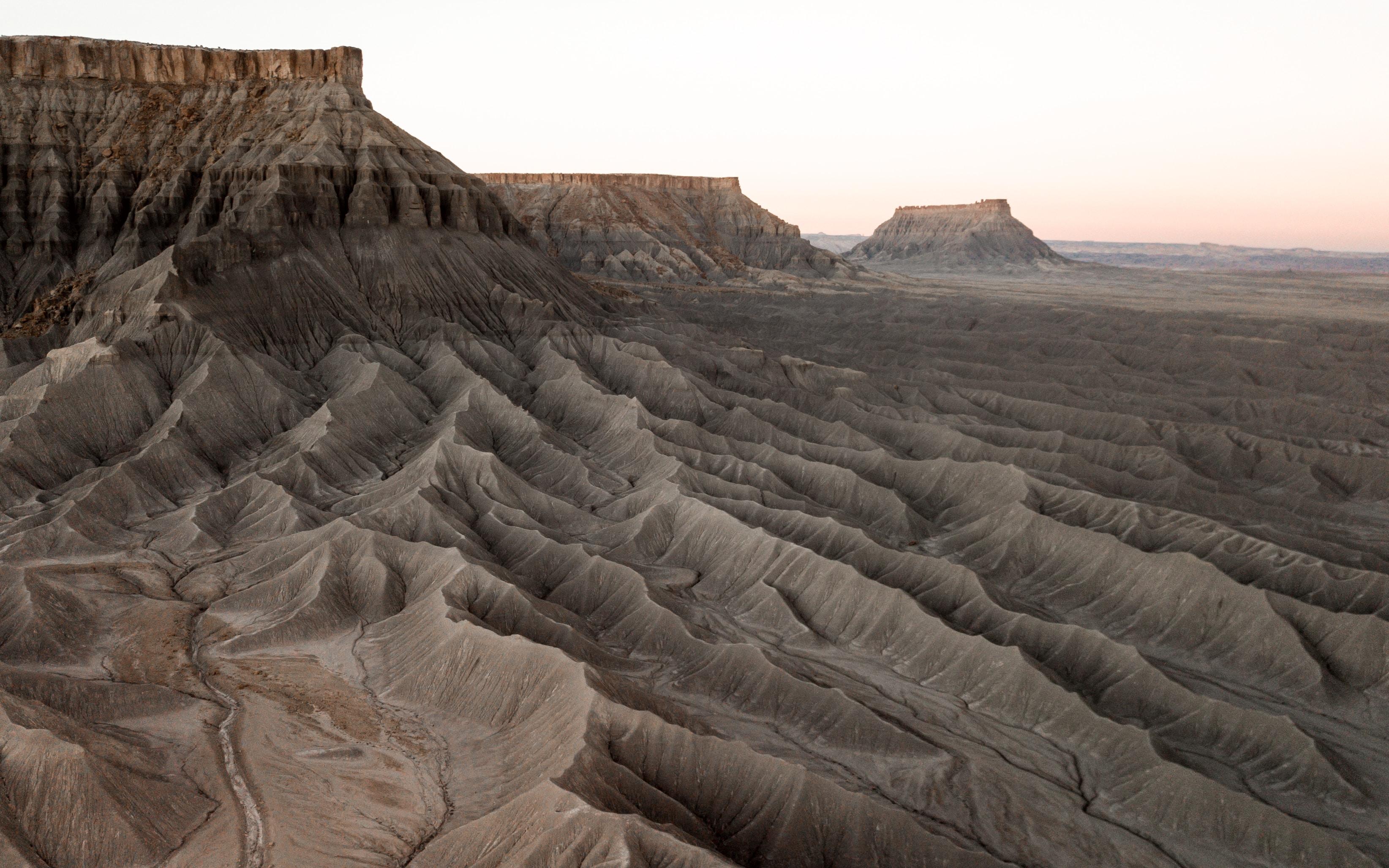 brown desert dune