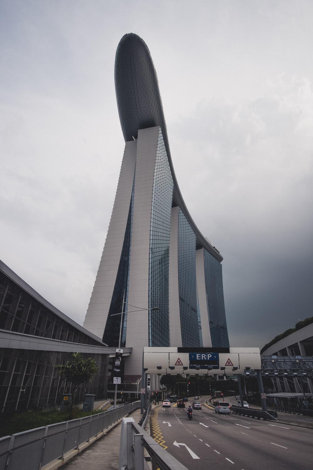 low angle photography of Marina Bay Sands in Singapore