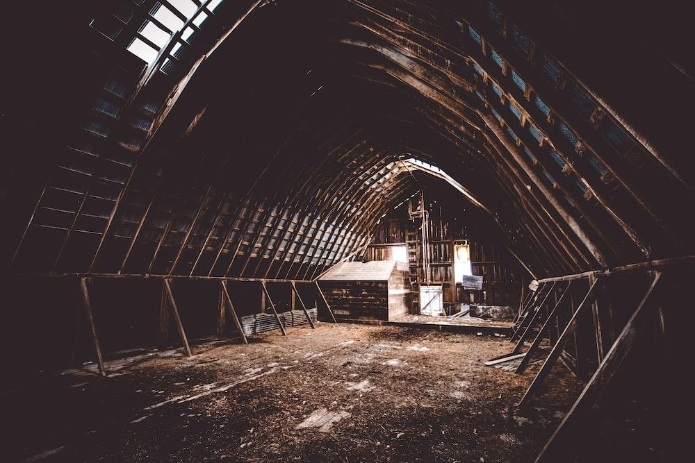 shipwreck interior
