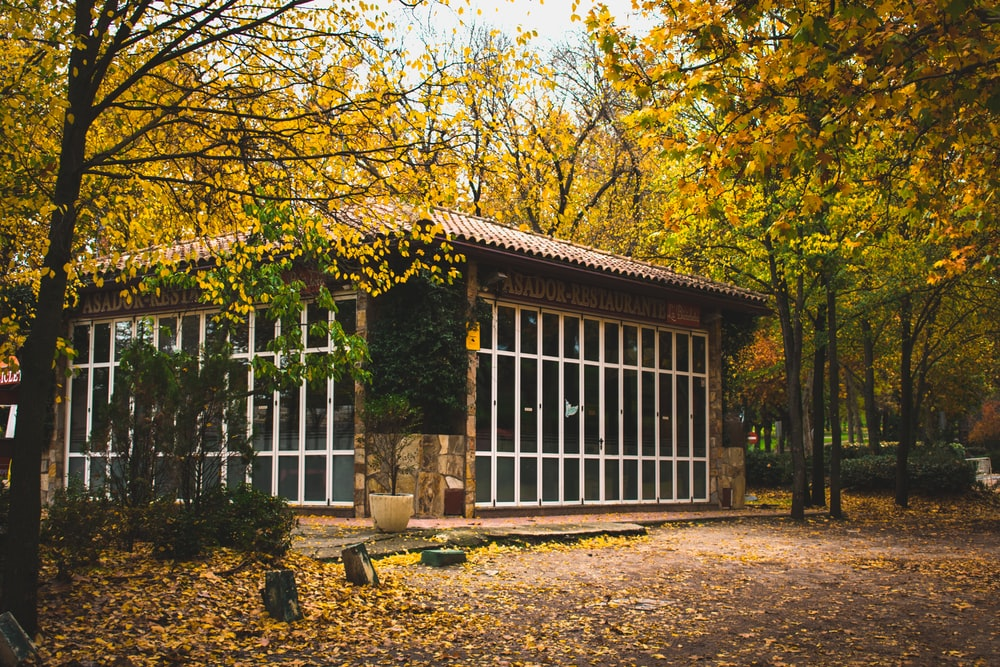 Asador Restaurant during autumn