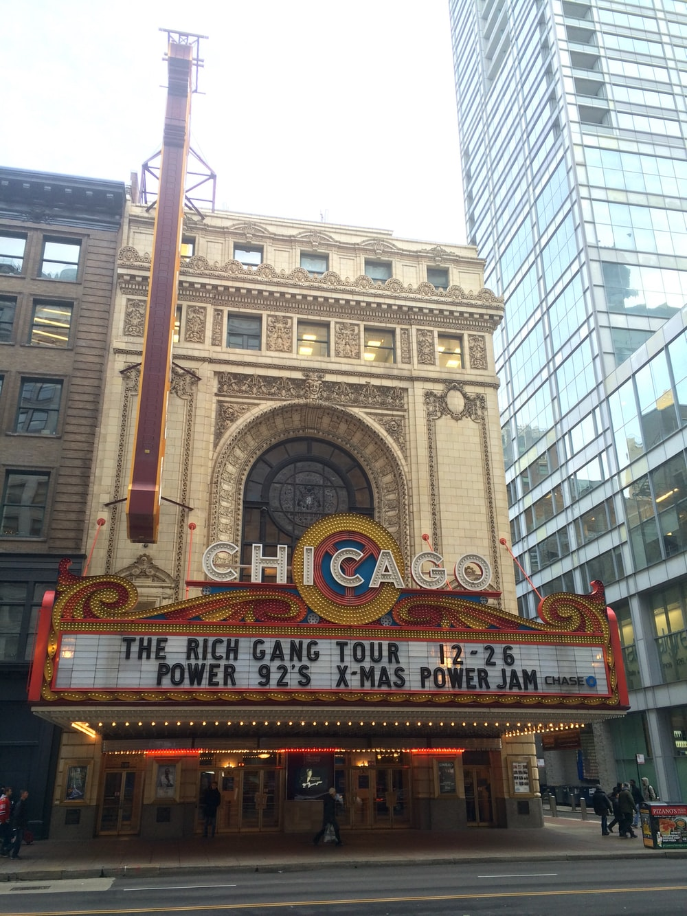 Chicago The Rich Gang Tour building