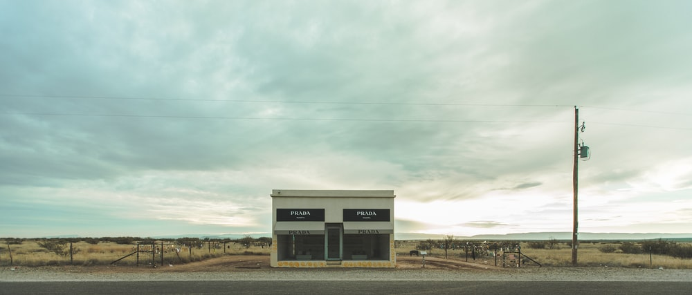 Prada desert store