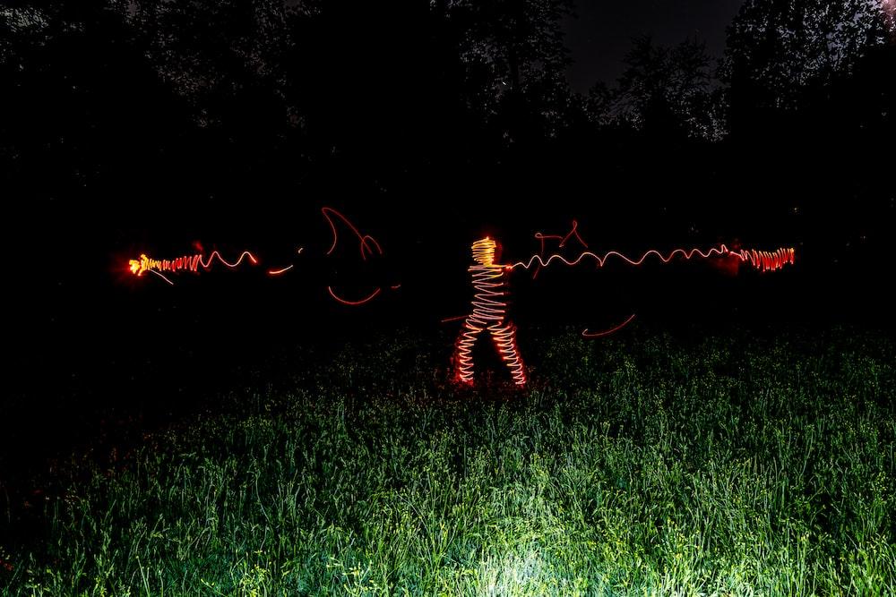 light streak photographt